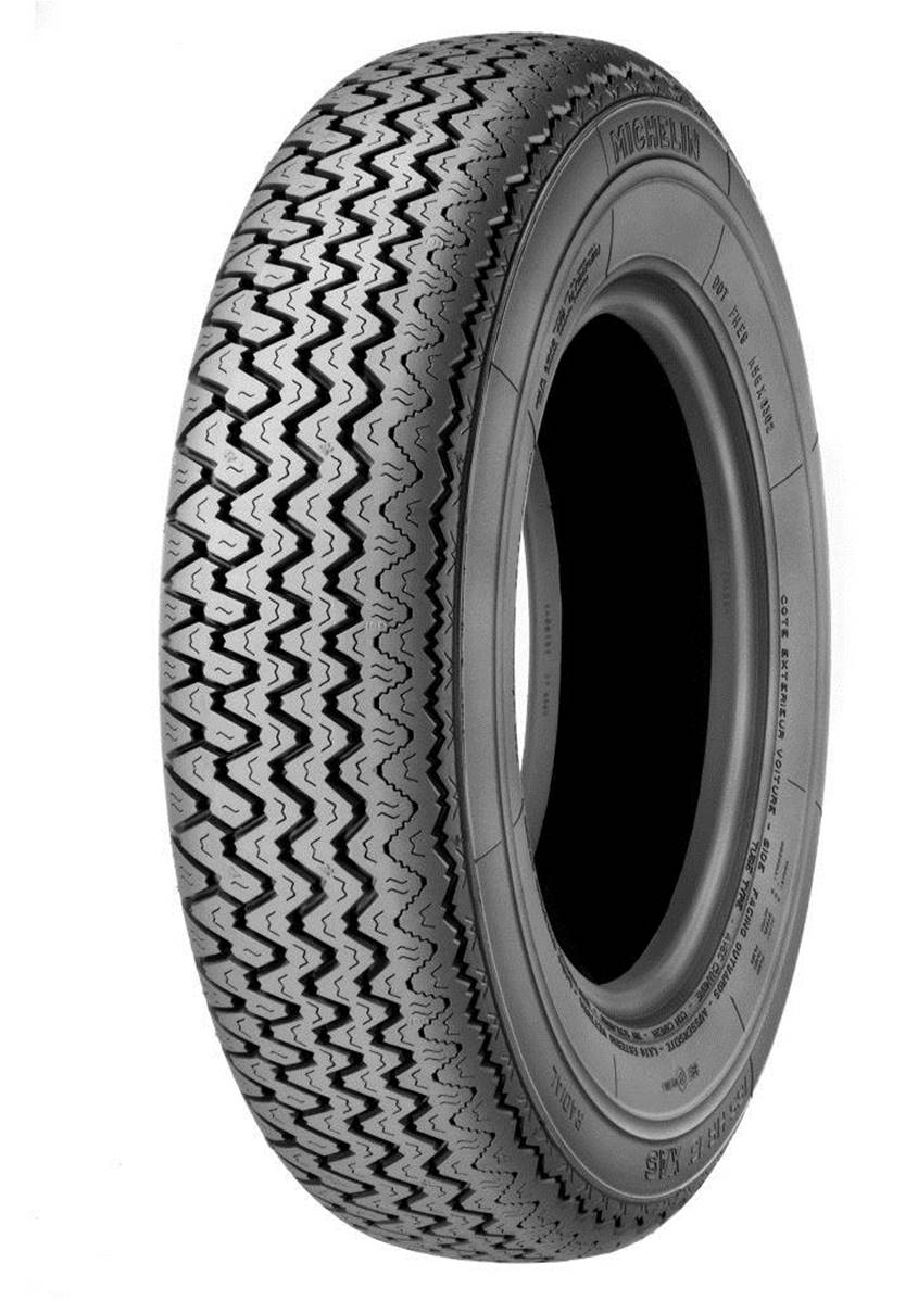 Pneu michelin competition historique 155 hr 15 xas ff tt 82h for Diametre exterieur pneu